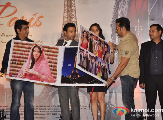 Kishan Kumar, Rhehan Malliek, Preity Zinta, Salman Khan, Prem Raj At Ishkq In Paris Music Launch