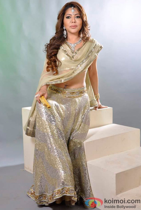 Laila Khan's Dandiya Photo Shoot Pic 12