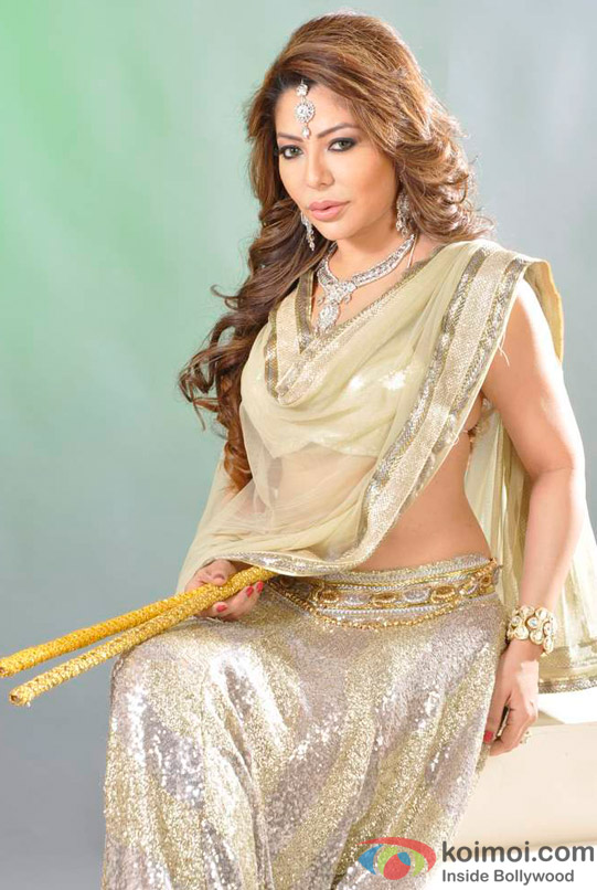 Laila Khan's Dandiya Photo Shoot Pic 11