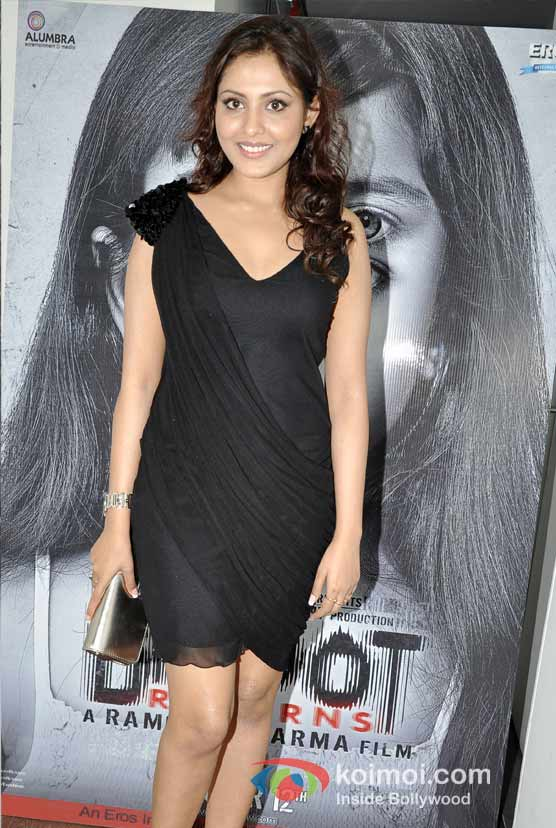 Madhu Shalini At Special 3D Preview Of Bhoot Returns Movie