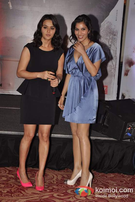 Preity Zinta, Sophie Choudry At Ishkq In Paris Music Launch