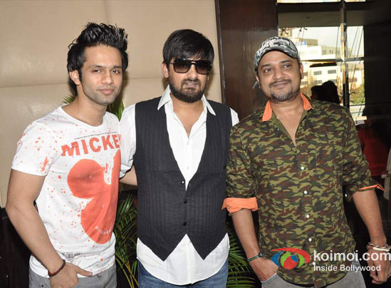 Rahul Vaidya, Wajid Ali, Sajid Ali At Ishkq In Paris Music Launch