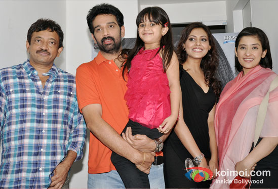 Ram Gopal Varma, J. D. Chakravarthy, Alayana Sharma, Madhu Shalini, Manisha Koirala At Special 3D Preview Of Bhoot Returns Movie