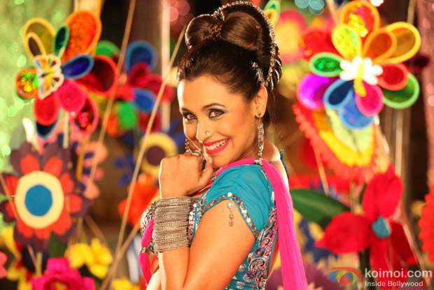 Rani Mukerji in a Song from Aiyyaa Movie Stills