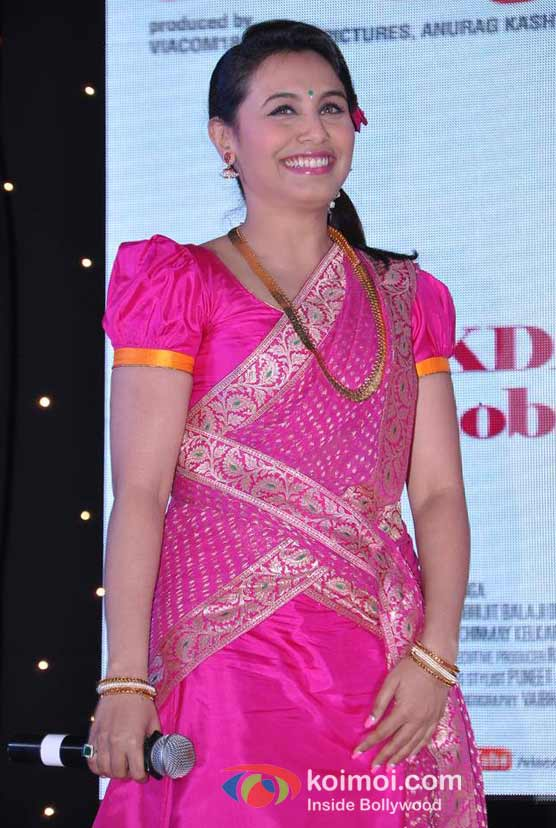 Rani Mukerji At Aiyyaa Movie Dreamum Wakeuppam Song Launch