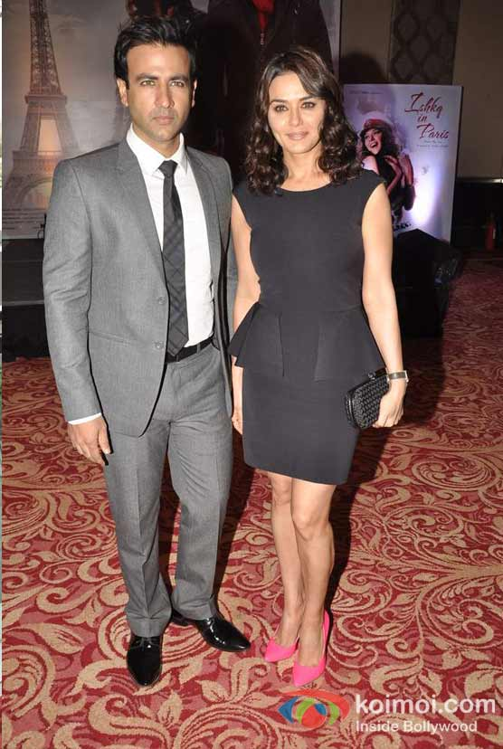 Rhehan Malliek, Preity Zinta At Ishkq In Paris Music Launch