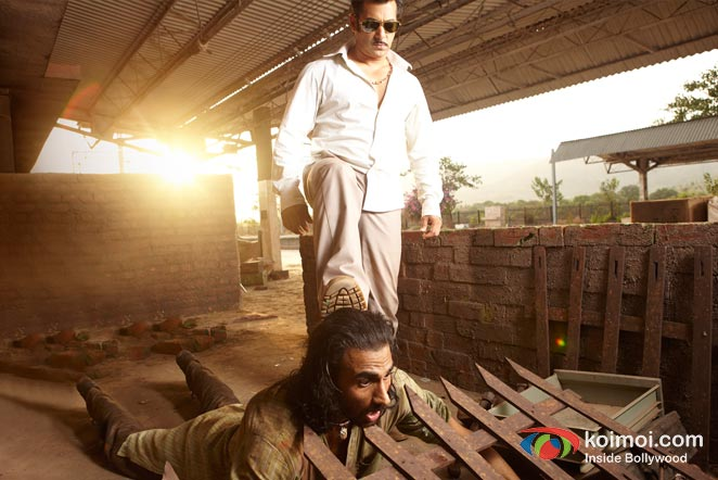 Salman Khan (Dabangg Movie Stills)