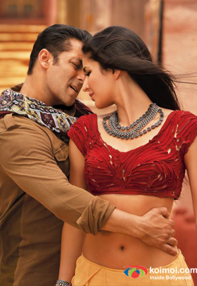 Salman Khan and Katrina Kaif (Ek Tha Tiger Movie Stills)