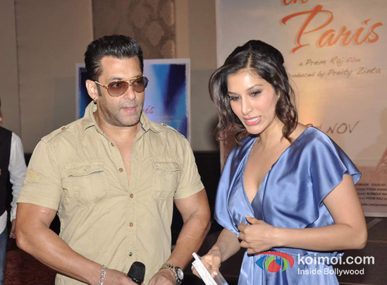 Salman Khan, Sophie Choudry At Ishkq In Paris Music Launch
