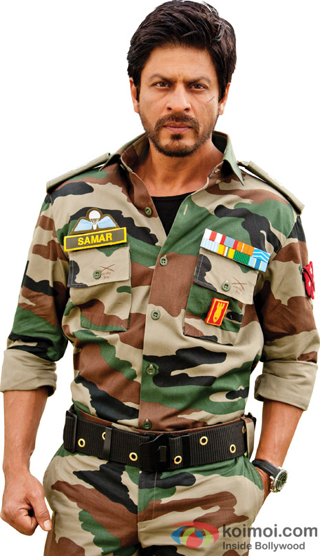 Shah Rukh Khan's rugged look in Jab Tak Hai Jaan Movie Stills