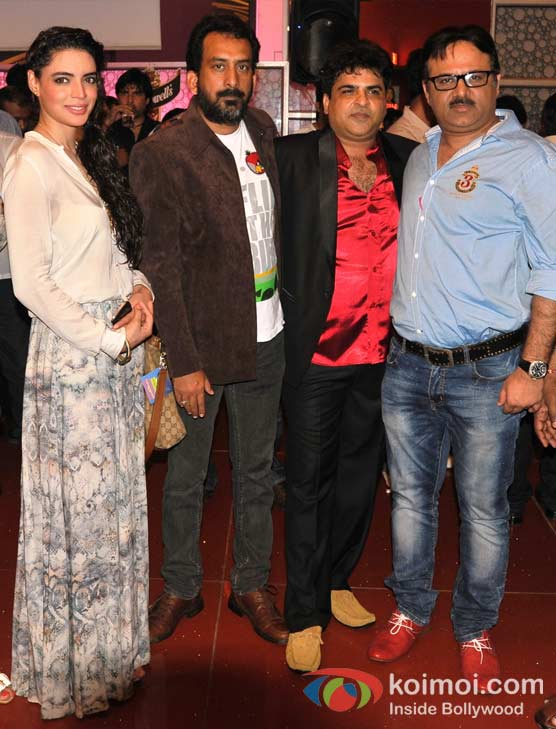 Shweta Bharadwaj, Hemant Pandey, Chandrakant Singh, Neeraj Pathak At Launch Of C K Arts First Produced Short Film Scapegoat