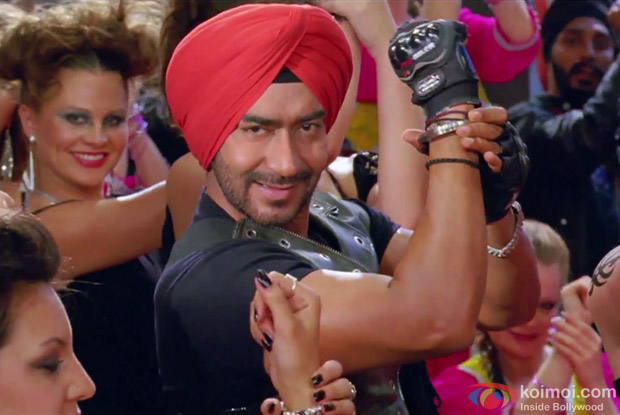 Ajay Devgan in Son Of Sardaar Song in Son Of Sardaar (Son Of Sardar) Movie Stills