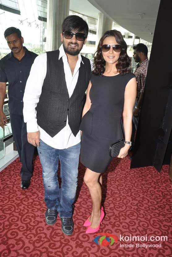 Wajid Ali, Preity Zinta At Ishkq In Paris Music Launch