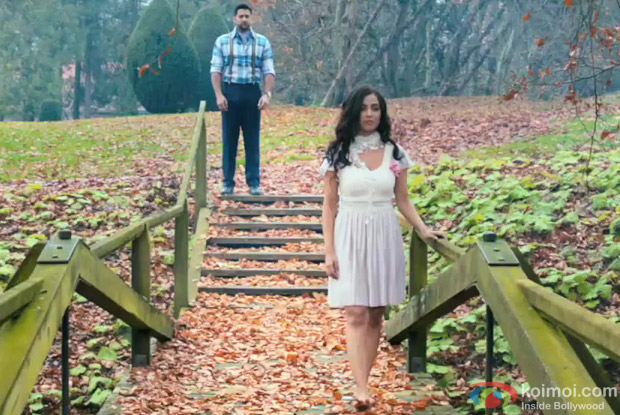Aftab Shivdasani and Tia Bajpai in a still from 1920 - Evil Returns Movie