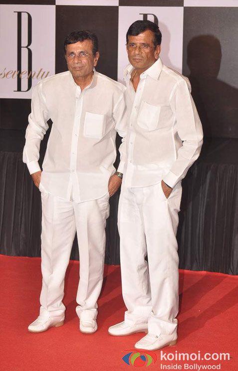 Abbas Burmawalla And Mustan Burmawalla At Amitabh Bachchan's 70th Birthday Bash