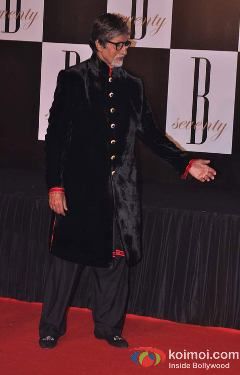 Amitabh Bachchan's 70th Birthday Bash