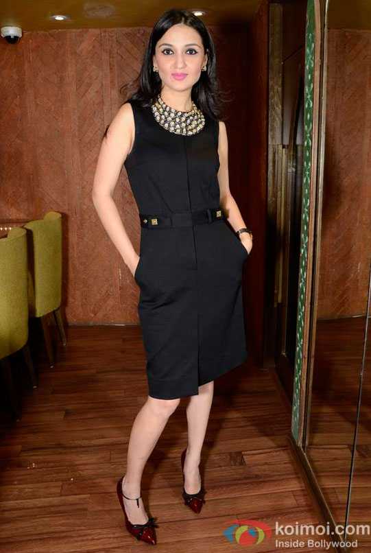 Anu Dewan At Maheep Kapoor's Festive Collection Launch