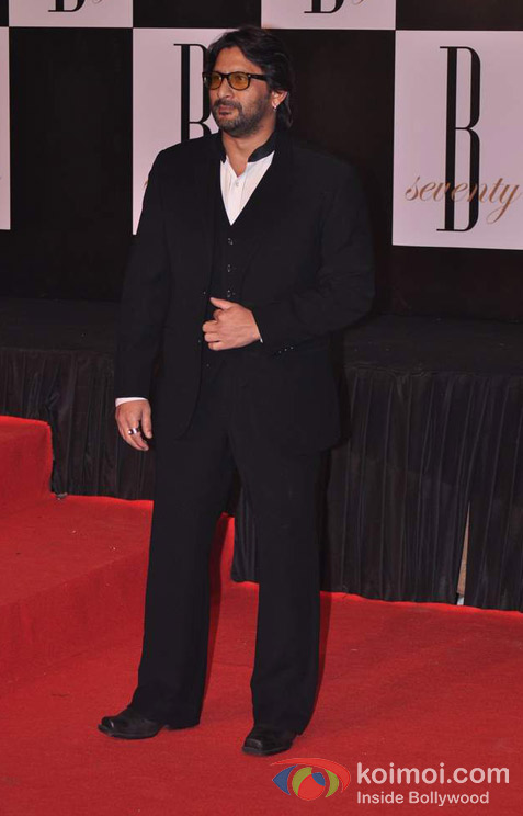 Arshad Warsi At Amitabh Bachchan's 70th Birthday Bash