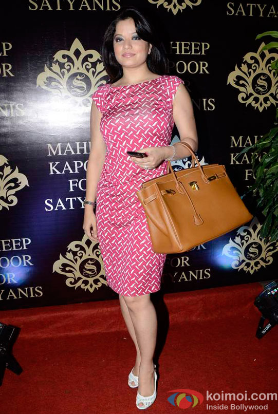 Arzoo Govitrikar At Maheep Kapoor's Festive Collection Launch