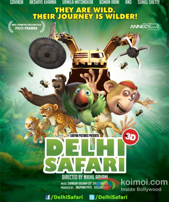 Delhi Safari Review (Delhi Safari Movie Poster)