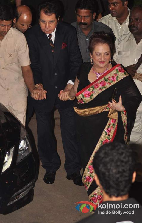 Dilip Kumar And Saira Banu At Amitabh Bachchan's 70th Birthday Bash
