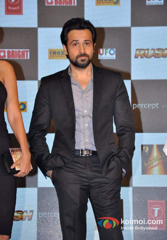 Emraan Hashmi At Rush Movie Music Launch Pic 2