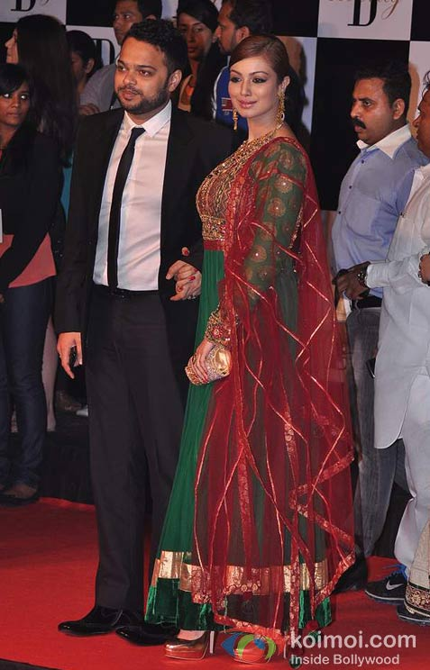 Farhan Azmi And Ayesha Takia Azmi At Amitabh Bachchan's 70th Birthday Bash