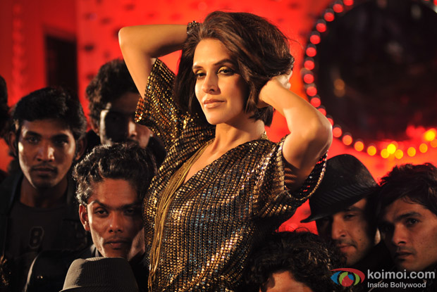 Neha Dhupia in Fukraa Song in Rush Movie Stills