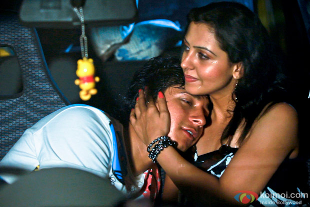 Himanshu Bhatt and Nandini Rai in Login Movie Stills