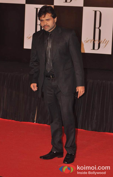 Himesh Reshammiya At Amitabh Bachchan's 70th Birthday Bash