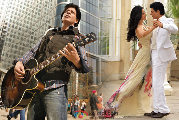 Shah Rukh Khan from Challa Song & Katrina Kaif and Shah Rukh Khan from Saans Song in Jab Tak Hai Jaan Movie Stills