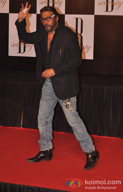 Jackie Shroff At Amitabh Bachchan's 70th Birthday Bash