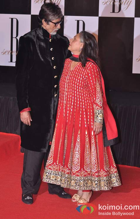 Jaya Bachchan At Amitabh Bachchan's 70th Birthday Bash