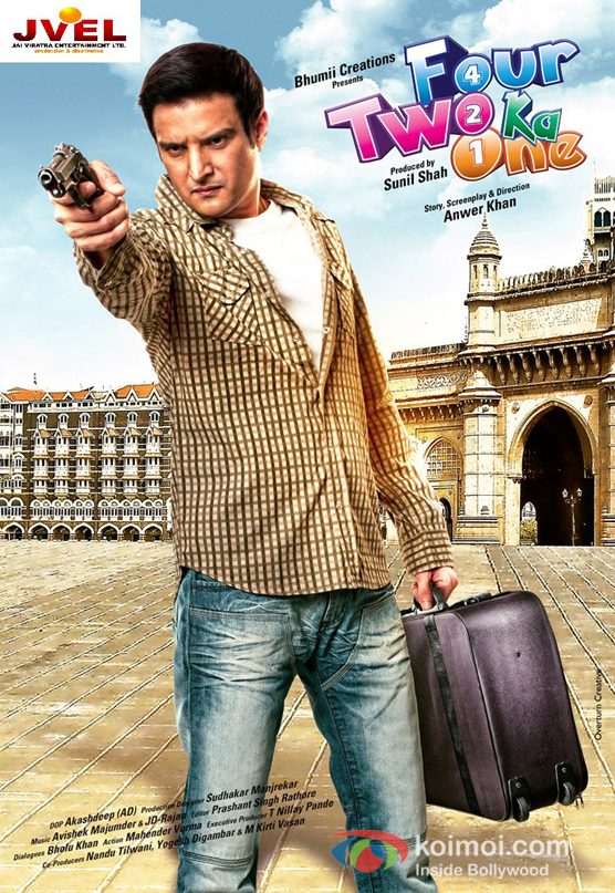 Jimmy Shergill In Four Two Ka One Movie Poster