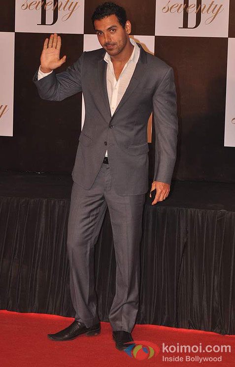 John Abraham At Amitabh Bachchan's 70th Birthday Bash
