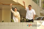 Karisma Kapoor, Randhir Kapoor attends Saif Ali Khan And Kareena Kapoor's Marriage Pic 2