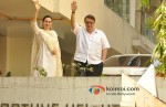 Karisma Kapoor, Randhir Kapoor attends Saif Ali Khan And Kareena Kapoor's Marriage Pic 1