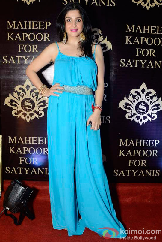 Maheep Kapoor's Festive Collection Launch