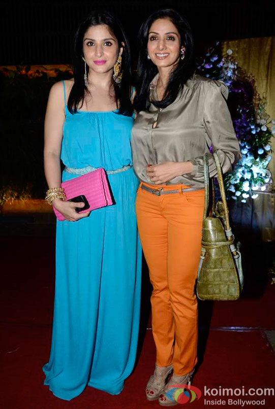 Sridevi At Maheep Kapoor's Festive Collection Launch Pic 1