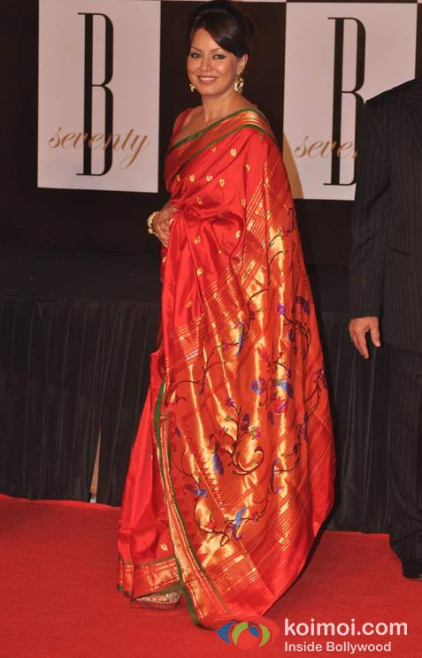 Mahima Chaudhry At Amitabh Bachchan's 70th Birthday Bash