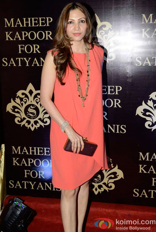 Manila Rajkumar Santoshi At Maheep Kapoor's Festive Collection Launch