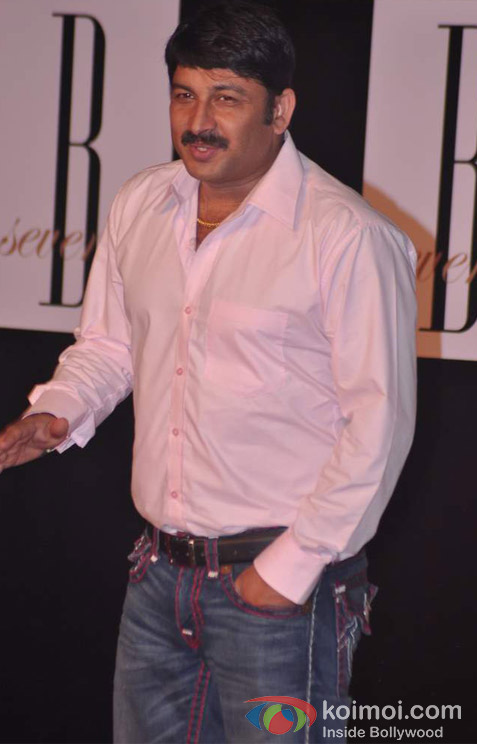 Manoj Tiwari At Amitabh Bachchan's 70th Birthday Bash