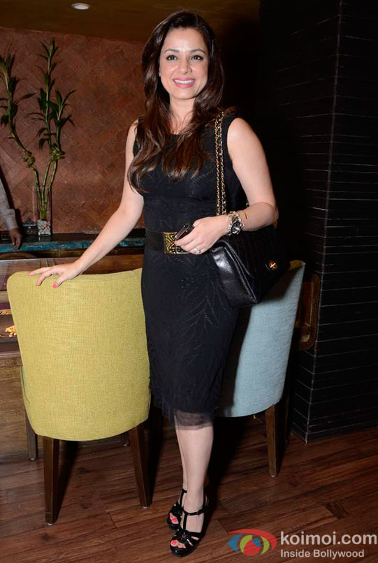 Neelam Kothari At Maheep Kapoor's Festive Collection Launch