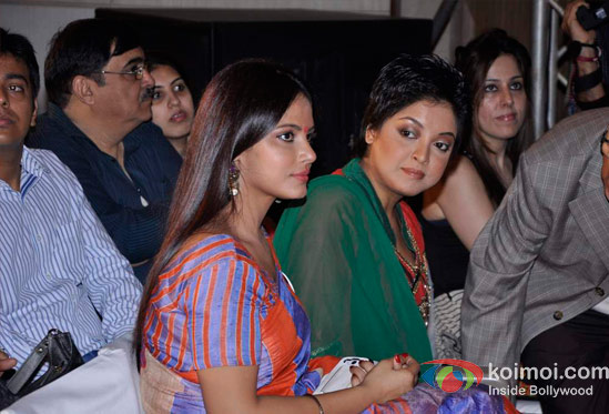 Neetu Chandra And Tanushree Dutta At CPAA's Cancer Rose Day 2012 Event