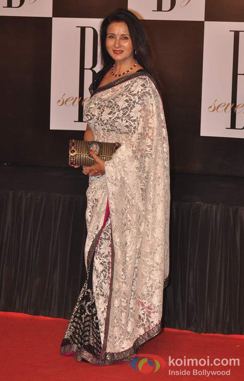 Poonam Dhillon At Amitabh Bachchan's 70th Birthday Bash
