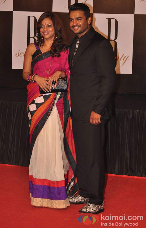 R.Madhavan At Amitabh Bachchan's 70th Birthday Bash