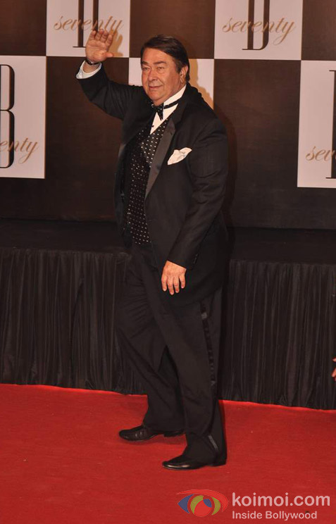Randhir Kapoor At Amitabh Bachchan's 70th Birthday Bash