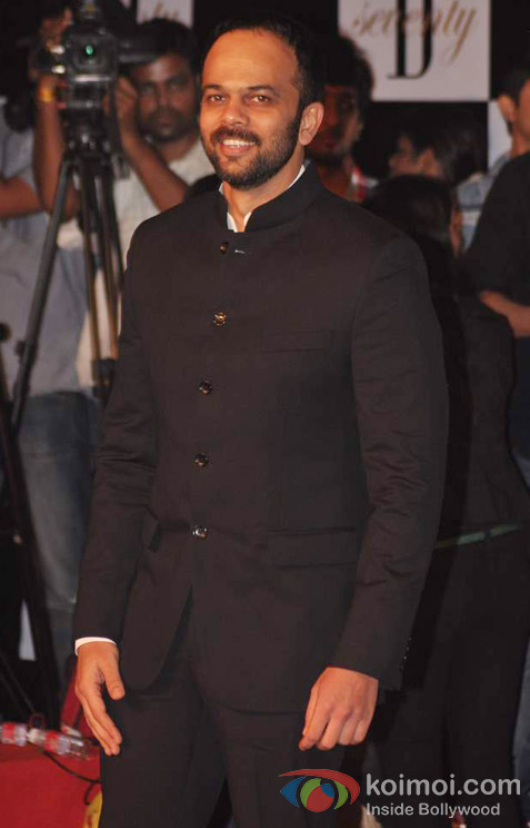 Rohit Shetty At Amitabh Bachchan's 70th Birthday Bash