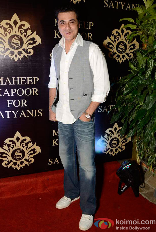 Sanjay Kapoor At Maheep Kapoor's Festive Collection Launch