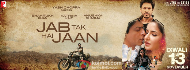 Jab Tak Hai Jaan Movie Poster Wallpaper